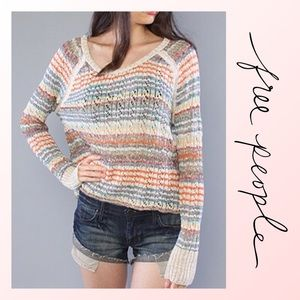 Free People Lost in the Forest Pullover